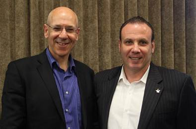 Professor Neil Greenberg with Tim Marney - Mental Health Commissioner for Western Australia
